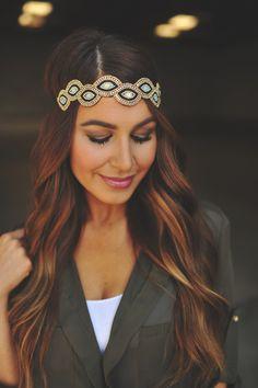 Dottie Couture Boutique - Teardrop Beaded Headband , $16.00 (http://www.dottiecouture.com/teardrop-beaded-headband/)