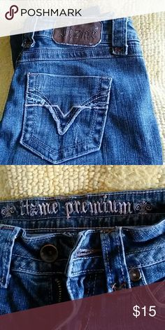 Sz 0 Itzme jeans These are good condition It's me Jeans Straight Leg