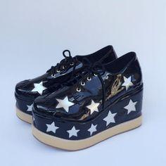 Punk Stars High Platform Lolita Shoes