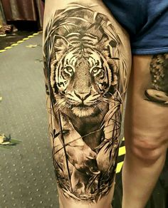 Nice detailed and realistic tattoo