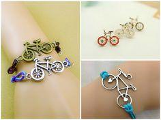 Bicycle Jewelry #Bracelet #Silver #Handmade @jewelrysight