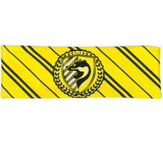 Yellow Badger House Pride Workout Headband (£12) ❤ liked on Polyvore featuring accessories, hair accessories, hair band accessories, stretchy headbands, headband crown, wide headbands and yoga headbands