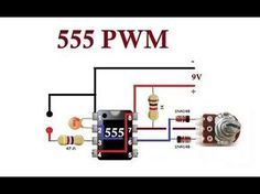 555 PWM. Simple Circuits. - YouTube