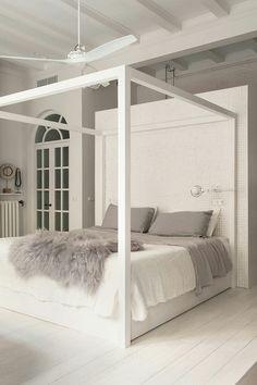 #bedroom #interiordesign #letto #baldacchino