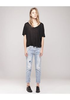 R13 / Relaxed Skinny Jean
