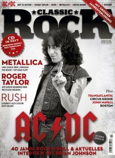 Bon Scott on the cover of Classic Rock Magazine 2014 (German Edition)