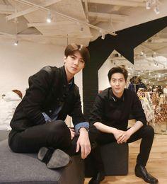 EXO   EXO-K   Oh Se Hun (sehun) & Kim Jun Myun (suho)