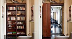Bookcase Hidden Door