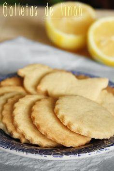 #Galletas de #limón