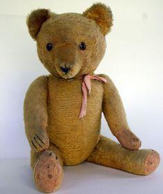 ...antique teddy bears...
