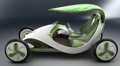 Leaf Car - Shanghai Automotive Industry Corporation has designed the Leaf Car, a special eco-friendly, energy-efficient and emission-free vehicle that feature. Leaf Car, All Electric Cars, Electric Vehicle, Velo Design, Futuristic Cars, Pedal Cars, General Motors, Amazing Cars, Awesome Toys
