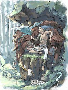 更夜 Kouya:十二国記 Juuni Kokki/Twelve Kingdoms - fanart