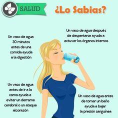 los beneficios de beber #agua