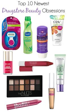 Top 10 Drugstore Beauty Products 2014 via @AllLacqueredUp