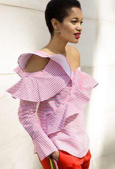 Tamu McPherson Summer Stripes