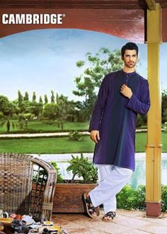 Men & kids Latest And Amazing Eid Dress Collection Of 2013 By Cambridge. Cambridge showed this dress collection at second last day of ramadan kareem.