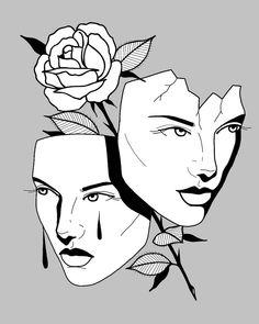Kunst Inspo, Art Inspo, Tatto Ink, Drawing Sketches, Art Drawings, Wie Zeichnet Man Graffiti, Kunst Tattoos, Graffiti Drawing, Music Tattoos