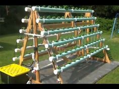 Hydroponic System - Homemade vertical, A-Frame-Your Hydro