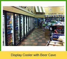need a beer cave src refrigeration designs and builds beer cave coolers for party stores - Beer Merchandiser