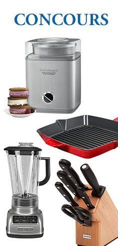 Gagnez un indispensable pour la cuisine. Fin le 14 octobre.  http://rienquedugratuit.ca/concours/gagnez-un-indispensable-pour-la-cuisine/