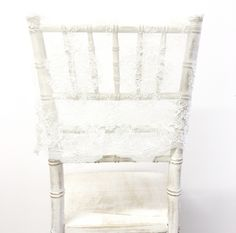 Lace Cap Chair Covers