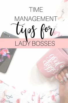Effective time management is important for anyone but it's absolutely crucial for creative entrepreneurs and business owners.  Because self-made bosses are responsible for every single aspect of their business, making sure you have enough time for the right tasks is critical to keeping your business running smoothly and profitable.  Manage your time #likeaboss | time management | time management tips | time management printable | time management for business | time management business tools