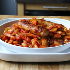 Get creative and try this delicious Quorn Meat Free Sausage and White Bean Cassoulet recipe