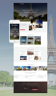 What a travel agency website should look like? Spectacular? Maybe similar to this travel Joomla theme ? It offers your travel company everything it needs for success. First of all, its an incredibl...