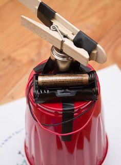 """How to Make a Homemade Wigglebot - A first """"robot"""" activity"""