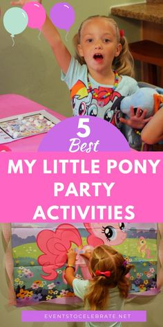If you are looking for fun Birthday theme of My Little Pony Party Activities and games for your next My Little Pony themed party, this is the place! My Little Pony Puzzle, My Little Pony Hair, My Little Pony Games, Birthday Party Games For Kids, My Little Pony Birthday Party, Birthday Fun, Singing Happy Birthday, Party Activities, My Little Pony Friendship
