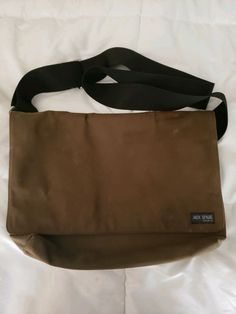 JACK SPADE Olive Green Canvas Messenger Bag  fashion  clothing  shoes   accessories   287bfe427d