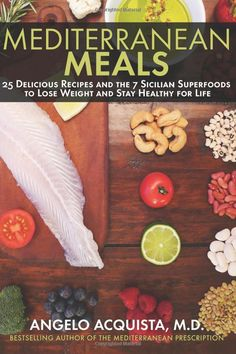 Cooking Mediterranean recipes isn't as hard as you think! Now, Dr. Angelo Acquista, author of the # 1 bestselling Mediterranean diet book, brings you 25 easy mediterranean recipes based on the 7 Sicilian Superfoods that promote weight loss and good health for life.