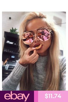 315ff7d395cdd Eyewear Type  Sunglasses Item Type  Eyewear Style  Round Gender  Women  Department Name  Adult Frame Material  Alloy Lenses Material  Polycarbonate  Lens ...