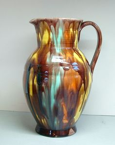 Pottery - Oaxacan Drip Ware Pitcher