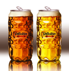 Volksbier on Packaging of the World - Creative http://www.packagingoftheworld.com/2014/10/volksbier.html