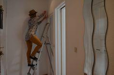 Vorbereitungen treffen: Wand abkleben Teil 4 - hoch hinaus!