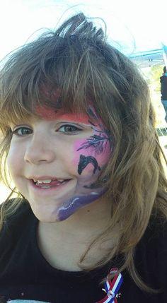 #dolphinfacepaint #oceanfacepaint #beachfacepaint #ocalafacepaint #funfacesballoncreationsfacepaint Dolphin Face Paint, Carnival, Painting, Carnavals, Painting Art, Paintings, Painted Canvas, Drawings