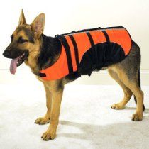 Guardian Gear Aquatic Pet Preserver - X-LARGE - ORANGE