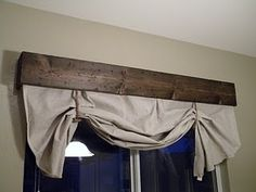 window - i'm thinking my bedroom and/or bath use with dowels inside for the drapes -no curtain rods to deal with.