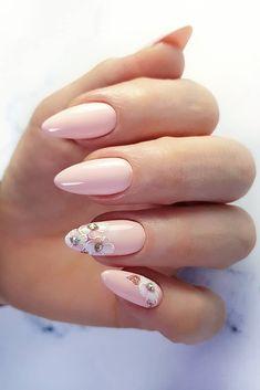 50 Glittering Acrylic Nail Designs for Long and Medium-Length Nails coffin nails, Long nails, nails, nails acrylic, nail Cute Nail Art Designs, Acrylic Nail Designs, Prom Nails, Wedding Nails, Hair And Nails, My Nails, Glitter Nails, Stiletto Nails, Coffin Nails