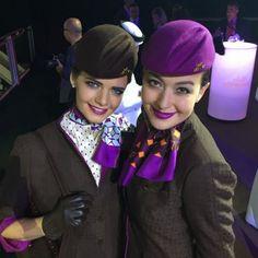 Etihad uniform...cute hats