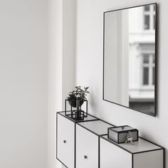 Frame 42 Sideboards in light grey making the perfect sideboard…