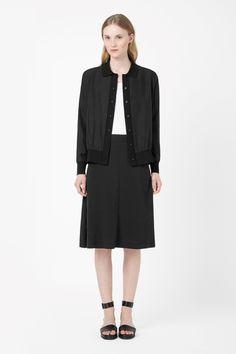 COS | Silk collared blazer