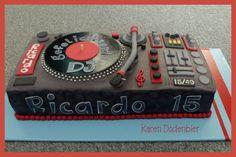 DJ turntable!