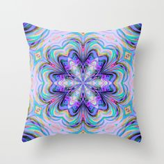 Caprice Throw Pillow Cover by Lisa Argyropoulos (pillow insert available for purchase) covers start at $20.00