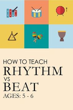 How to Teach Beat vs. Rhythm (Part — We Are the Music MakersYou can find Teaching music and more on our website.How to Teach Beat vs. Rhythm (Part — We Are the M. Elementary Music Lessons, Music Lessons For Kids, Music Lesson Plans, Singing Lessons, Music For Kids, Piano Lessons, Elementary Schools, Vocal Lessons, Singing Tips