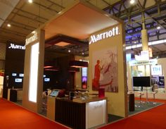 EIBTM Barcelona. This stand was designed and installed by Elevations Exhibition Design & Management Ltd in November 2013.