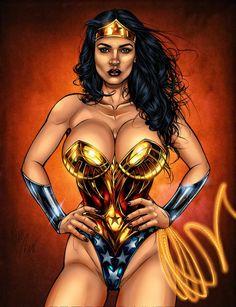 Armando Huerta  WonderWoman