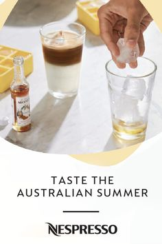 Summer is here, which means it's time to break out your favorite iced coffee recipe. Luckily, Nespresso is serving up a little Australian inspiration with these Flat White Over Ice and the Long Black Over Ice capsules. Click here to see how you can add these sweet drinks to your daily routine.