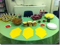"Charlie Brown Thanksgiving ""Classroom"" Party http://www.mrsfreshwatersclass.com"